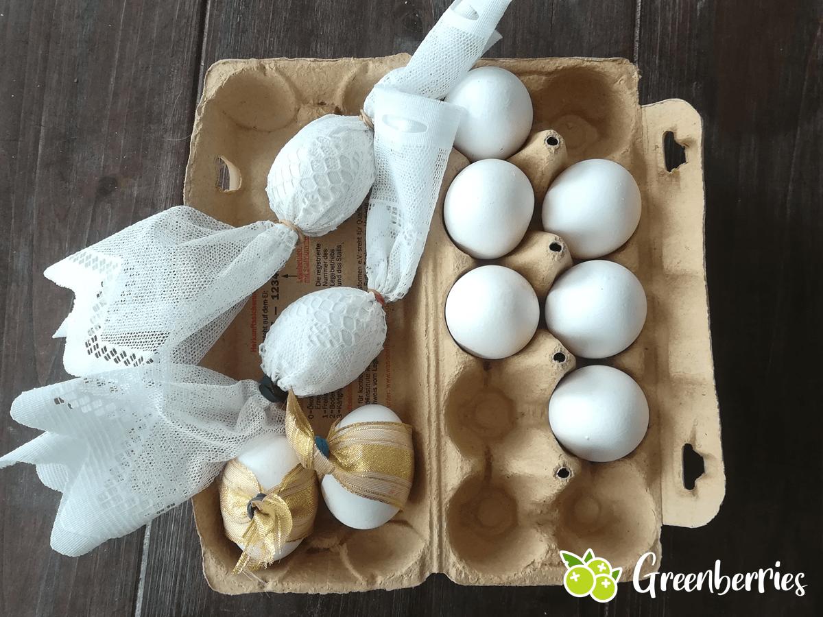 Ostereier natuerlich faerben