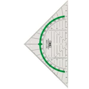 Geo-Dreieck aus Bio-Kunststoff
