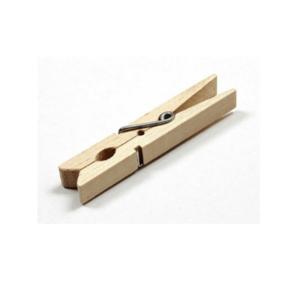 Waescheklammer aus Holz