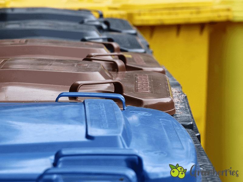 Muelltonnen Richtig recyceln