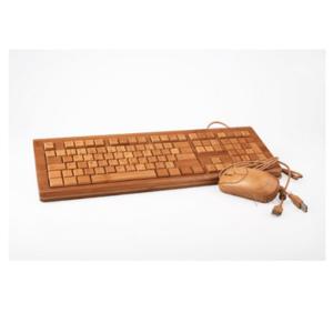 Tastatur-aus-Holz