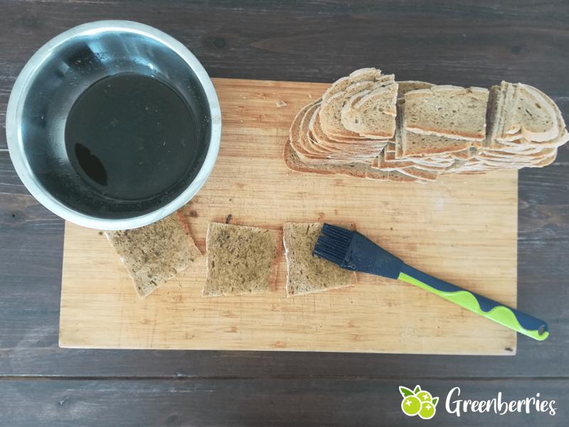 Brotchips selber machen nie wieder altes Brot weg schmeißen