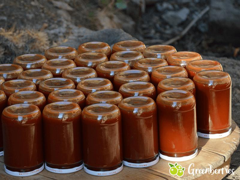 Hagebutte Marmelade