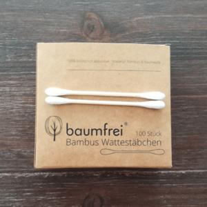Bambus Wattestaebchen