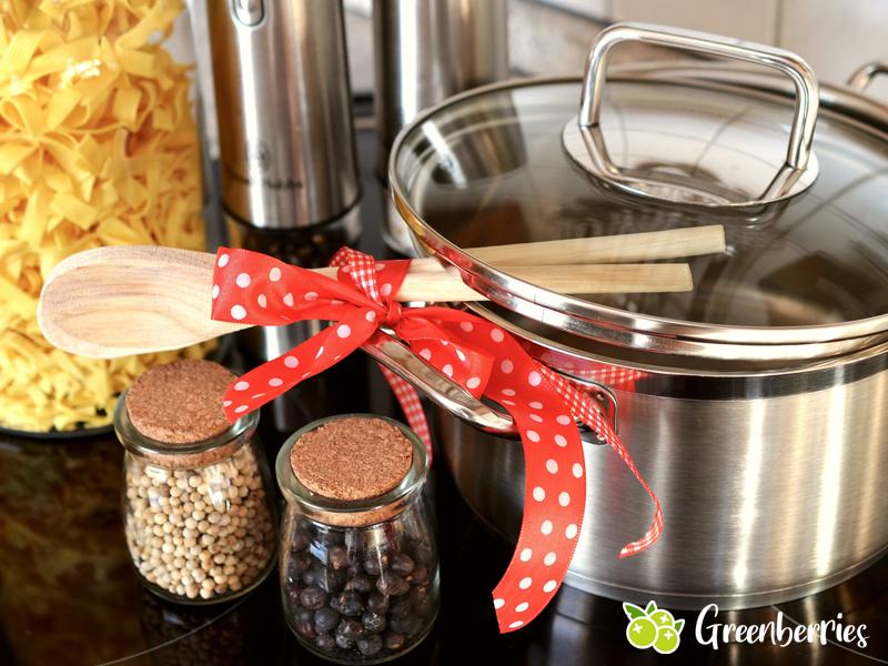 nachhaltige und plastikfreie Küche
