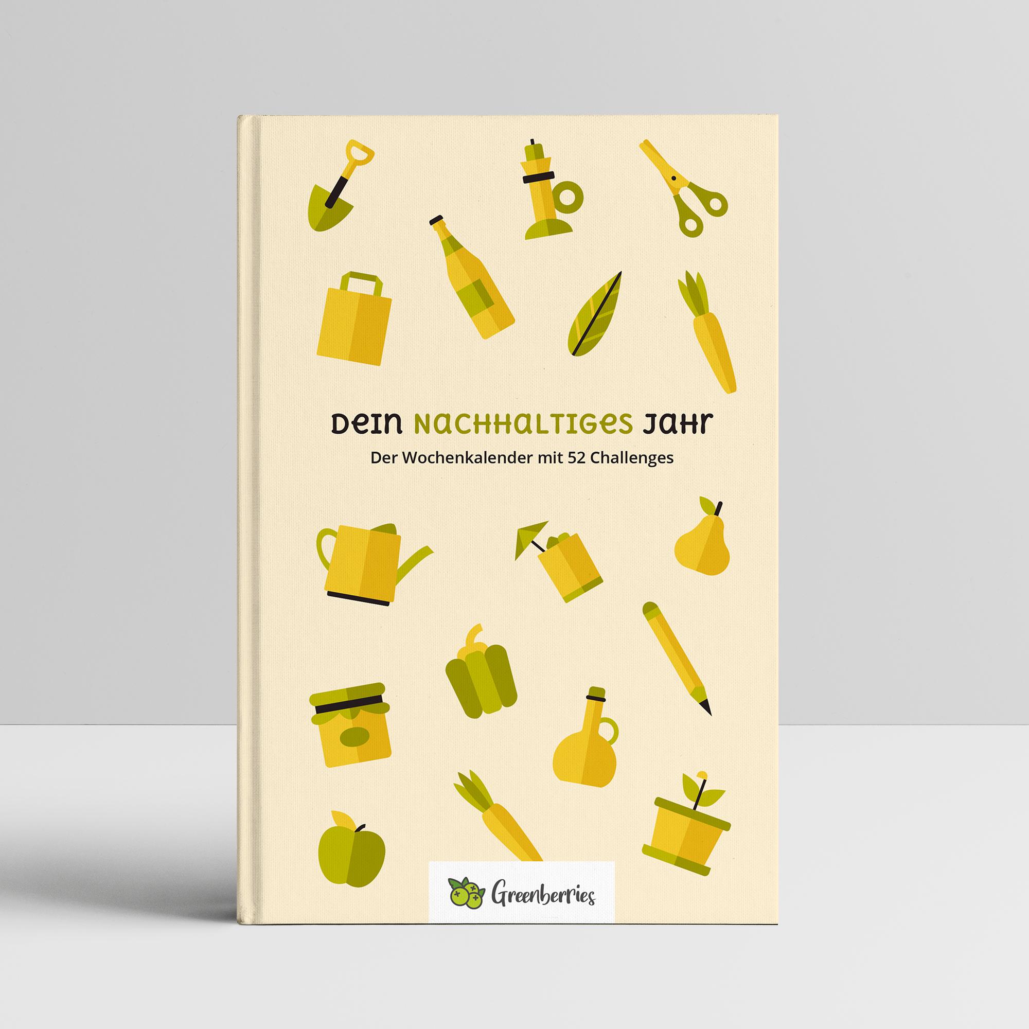 Dein nachhaltiges Jahr - Cover vom Kalender