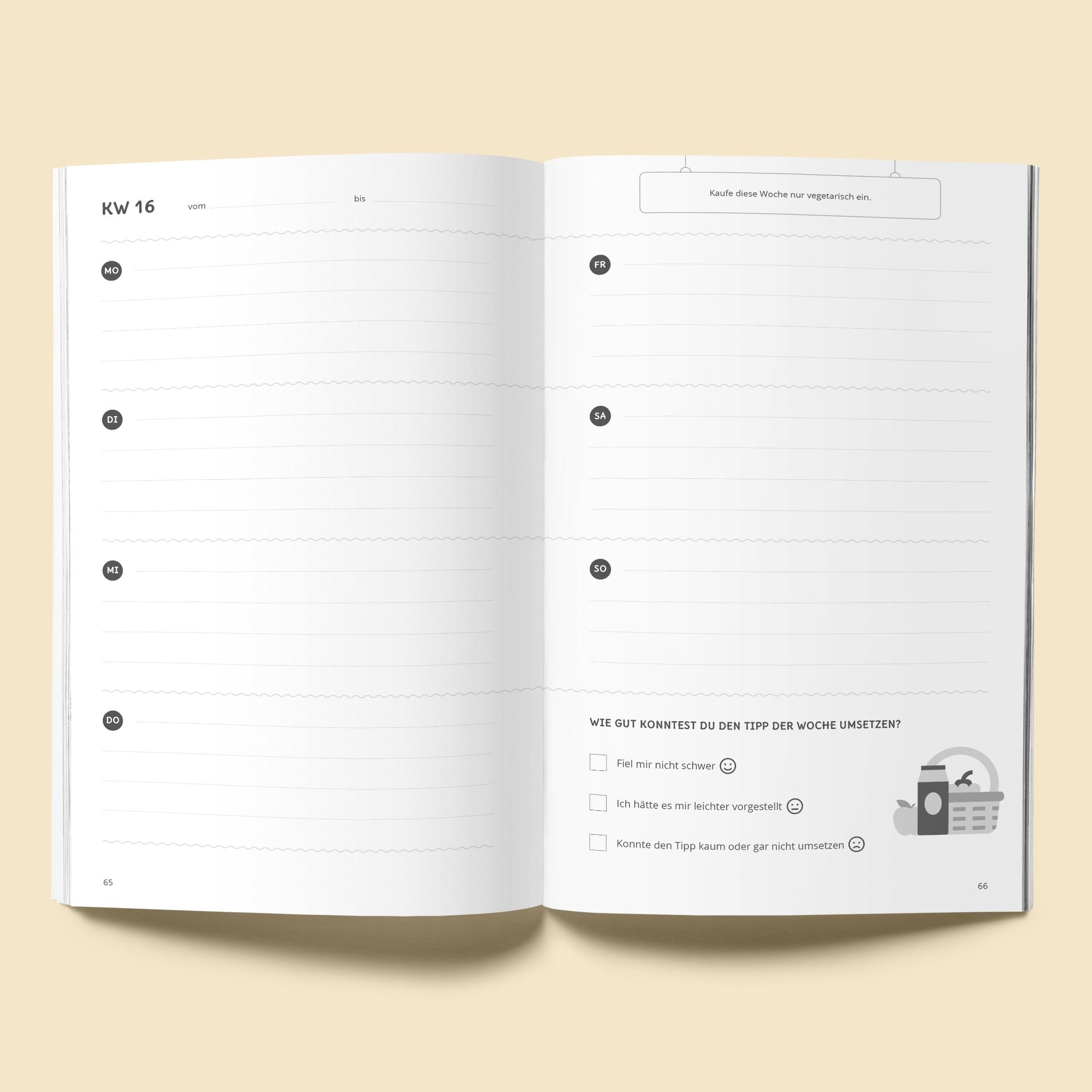 Dein nachhaltiges Jahr - der Kalender