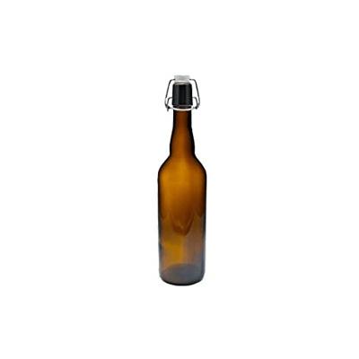 Glasflasche-braun